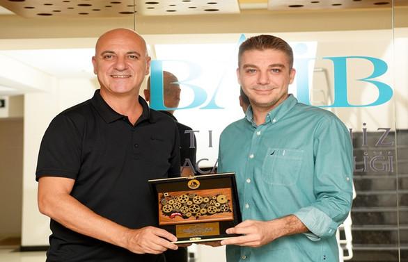 Antalya OSB iş birliğini artırmak için BAİB'i ziyaret etti
