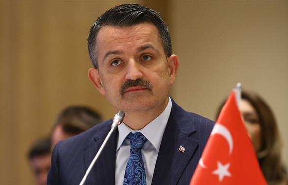 Tarım ve Orman Bakanı Pakdemirli: Kıbrıs isale hattında kopukluk gözlemlendi