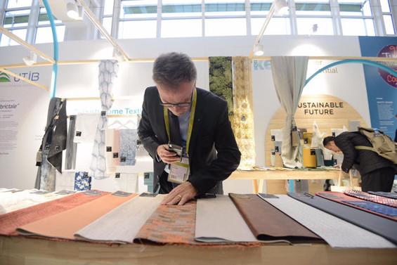 Türk ev tekstil firmaları, Heimtextil Frankfurt Fuarı'na katıldı