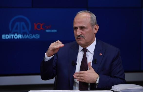 Turhan: Kanal İstanbul Projesi'ni 2026 gibi tamamlamış olacağız