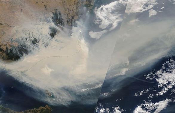 Avustralya'daki yangınların dumanları Dünya etrafında en az bir tur atacak