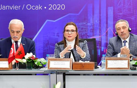 Ticaret Bakanı Pekcan'dan Fas'ta karşılıklı yatırım çağrısı