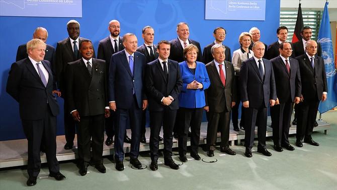 Libya Zirvesi'nde kapsamlı plan için anlaşma