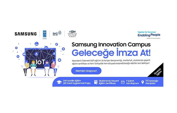 Samsung İnovasyon Kampüsü ilk eğitimine başlıyor
