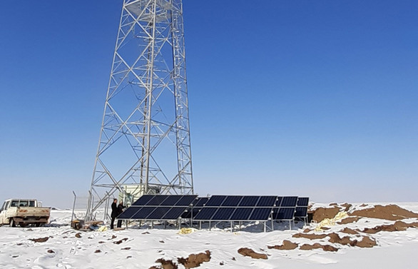 Türk Telekom'dan Ağrı'ya güneş enerjili baz istasyonu