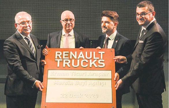 Renault Trucks, bayi ağını Mersin ile büyüttü