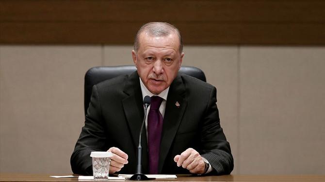 Cumhurbaşkanı Erdoğan:  İnşaat çalışmalarını hızla başlatacağız