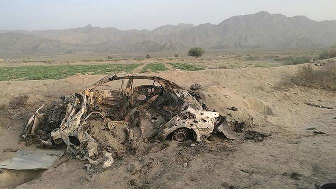 Taliban Afganistan'da uçak düşürdü