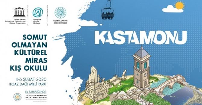 UNESCO Kış Okulu, Kastamonu'da gerçekleştirilecek