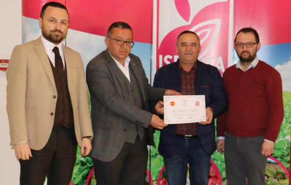 Sincer Ltd, Isparta Gülyağı Cİ Tescil belgesini aldı