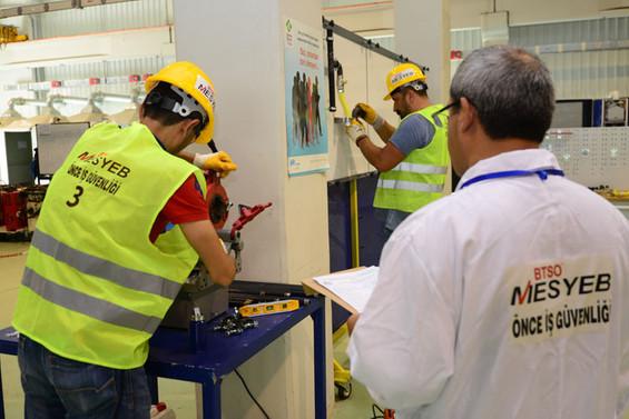 MESYEB, 34 bin çalışanı belgelendirdi