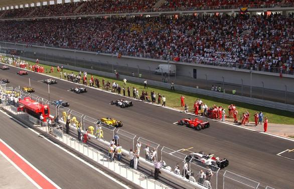 Formula 1'in yapılacağı asfalt yenilenecek