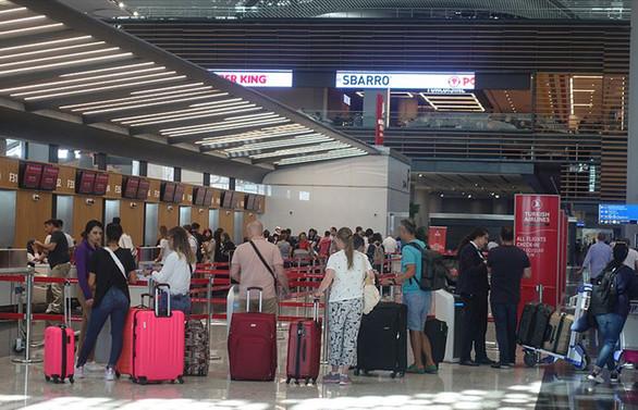İstanbul havalimanlarını 9 ayda 30 milyon üzerinde yolcu kullandı
