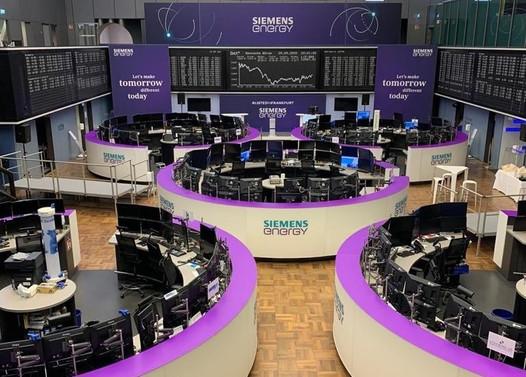 Siemens Energy hisseleri Frankfurt Borsası'nda işlem görmeye başladı