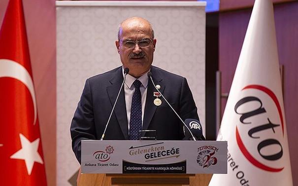ATO Başkanı Baran'dan, Sigorta Haftasını kutlaması