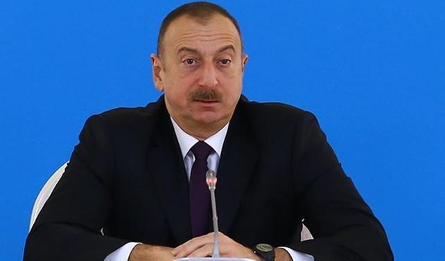 Aliyev: Ermenistan'ın namert hareketleri Azerbaycan halkının iradesini kıramayacak