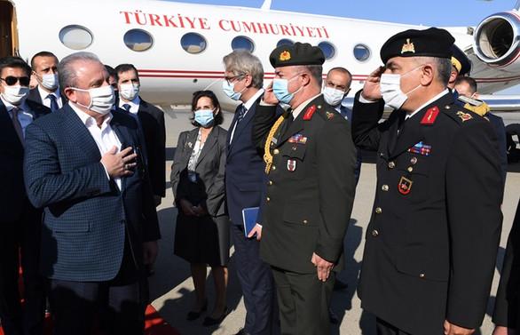 TBMM Başkanı Mustafa Şentop, Azerbaycana gitti