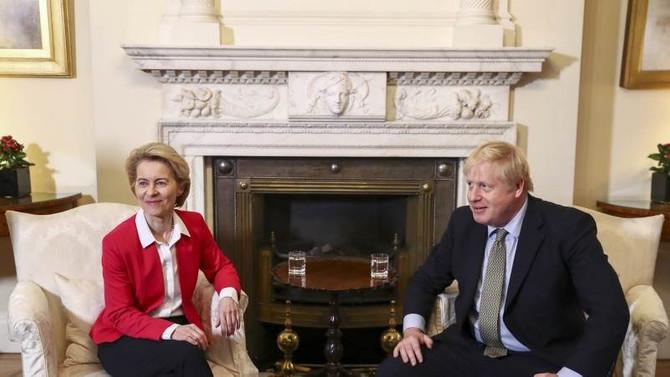 Johnson ve von der Leyen Brexit görüşmeleri için bir araya gelecek