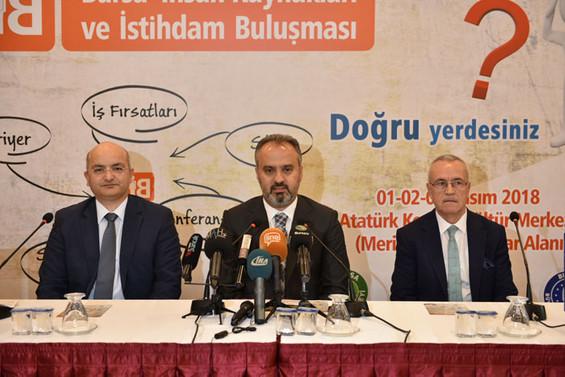 İş arayanla işveren Bursa'da buluşacak