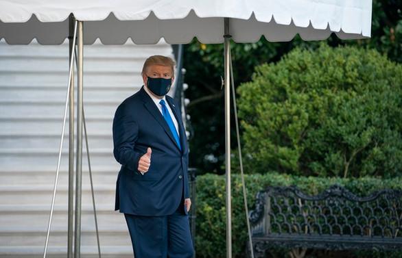 ABD Başkanı Trump askeri hastaneye kaldırıldı