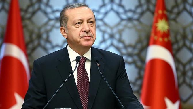 Cumhurbaşkanı Erdoğan'dan 3 Ekim Türk Dili Konuşan Ülkeler İş Birliği Günü tebriği