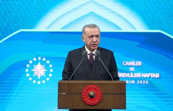 Erdoğan'dan Macron'a tepki: Saygısızlıktan öte açık bir provokasyondur