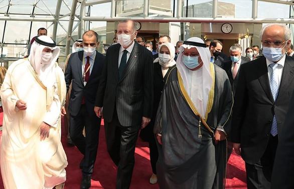 Cumhurbaşkanı Erdoğan'dan Kuveyt'e taziye ziyareti