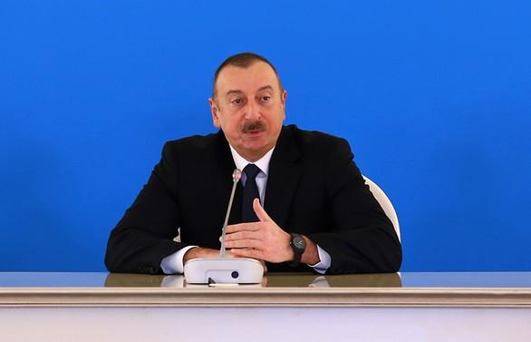Aliyev'den Ermenistan'la görüşme açıklaması