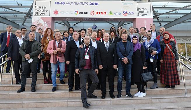 Bursa Textile Show'da 5 binin üzerinde iş görüşmesi yapıldı