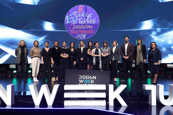 Ev tekstilinde genç tasarımcılar ödüllendirildi