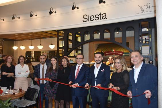 Siesta Korupark kapılarını açtı