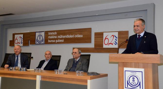 """MMO Bursa Şubesi'nde """"Mühendislik Yaşam Öyküleri"""""""