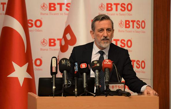 BTSO Başkanı Burkay'ın acı günü