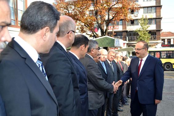 Bursa Valisi Yakup Canbolat göreve başladı