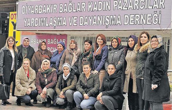 Kadın pazarcılar DİKAD desteği ile ayakta kalma mücadelesi veriyor