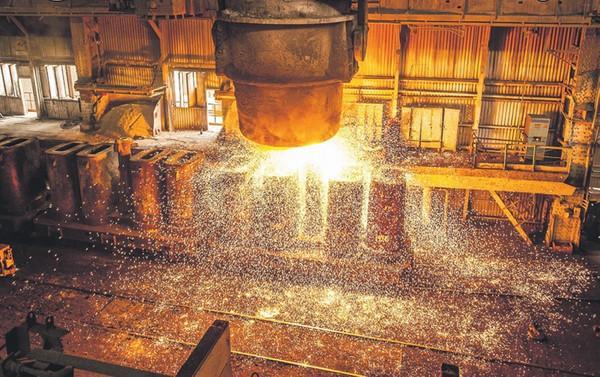Sanayi üretimi yüzde 8.6 arttı