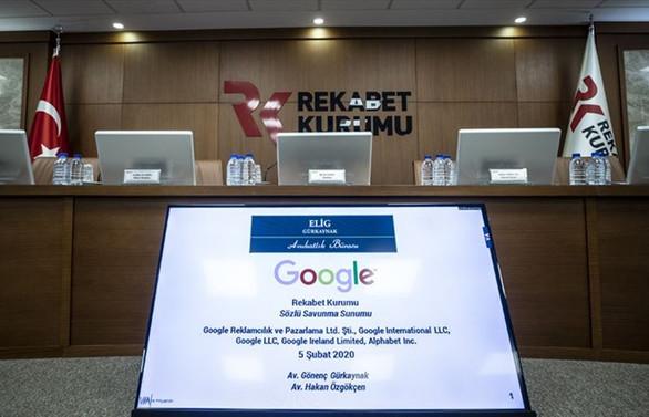Rekabet Kurumu'ndan Google'a 98 milyon TL'lik ceza