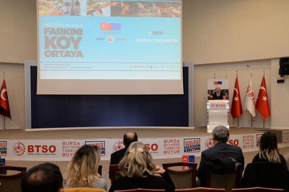 Mahir Eller Projesi Bursa'da tanıtıldı