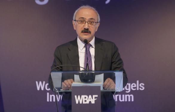 Elvan: Melek yatırımda Avrupa'da 4'üncü sıradayız