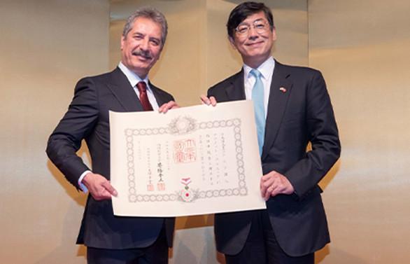 Ahmet Çalık'tan Japonya'ya teşekkür ziyareti