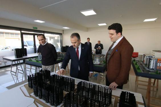 Bursa'dan Tacikistan'a maket ihracatı