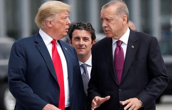 Trump'tan 'Erdoğan'la birlikte çalışıyoruz' açıklaması