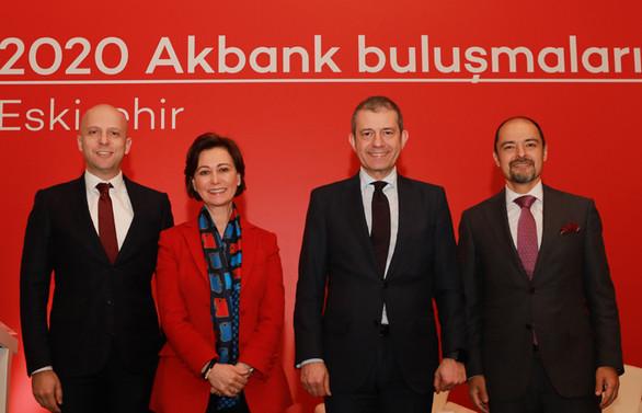 2020 Akbank Buluşmaları Eskişehir'de başladı