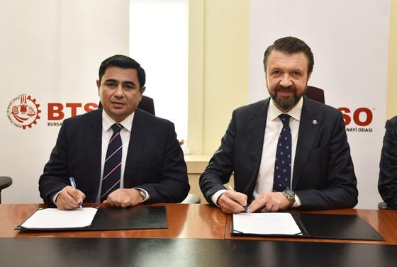 BTSO ve Özbekistan İpekçilik Bakanlığı iş birliği protokolü imzaladı