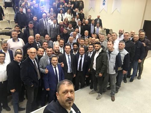 Bursa Çimento çalışanları etkinlikte buluştu
