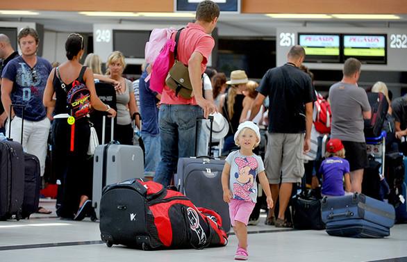 Yabancı ziyaretçide yüzde 16 artış
