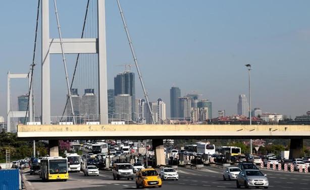 Köprü ve otoyollardan ocakta 189.5 milyon lira gelir