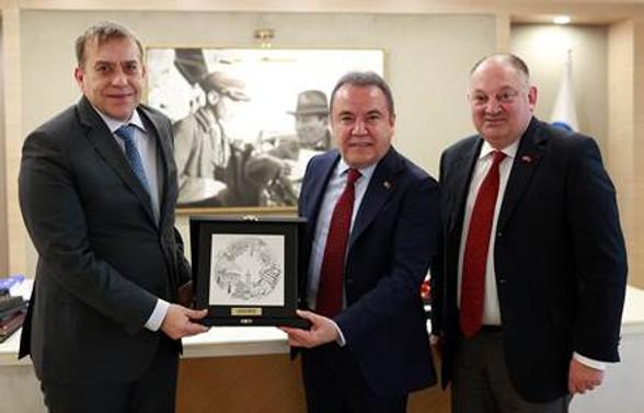 Slovenya Antalya ile ilişkilerini güçlendirmek istiyor