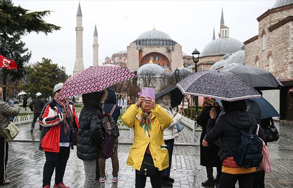 İstanbul'a ocak ayında 1 milyon 17 bin turist geldi