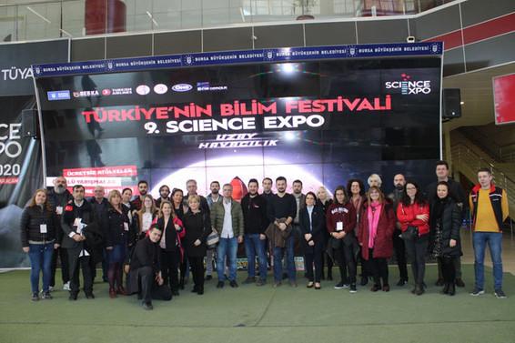 Yabancı eğitimciler BTM'yi ziyaret etti